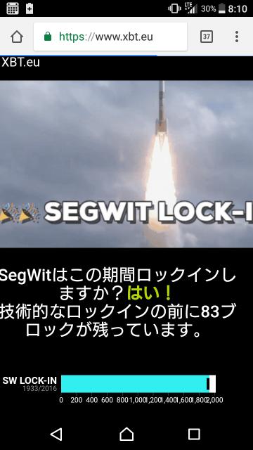 SegWitロックイン